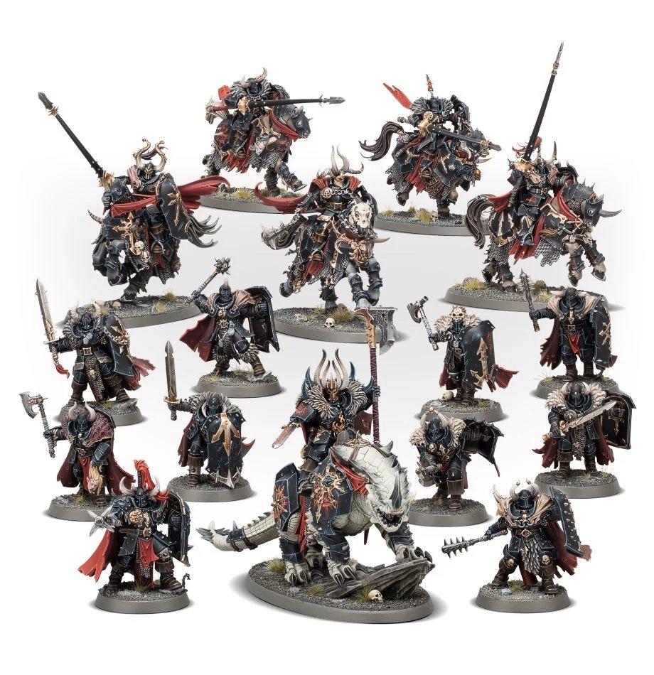 Chaos Knights Slaves Darkness Warhammer Start Collecting 2019 Sigmar Warrior 5