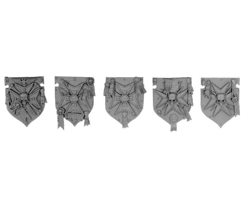 Black Templar Upgrade Accessories Warhammer 40k Space Marine Bits