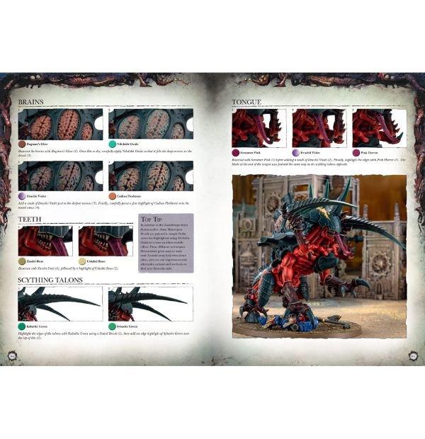 invasion swarms tyranids painting guide pdf