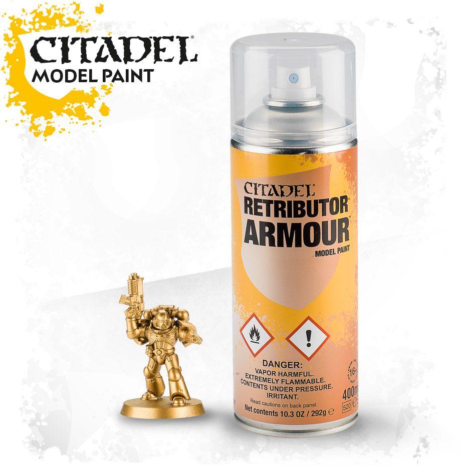 Главная :: Каталог :: Аксессуары :: Аксессуары GW :: Citadel Colour :: Citadel Spray :: Retributor Armour Spray