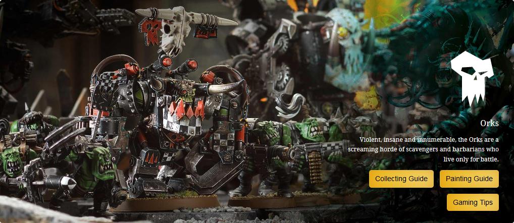 Warhammer 40k: Orks (Орки)