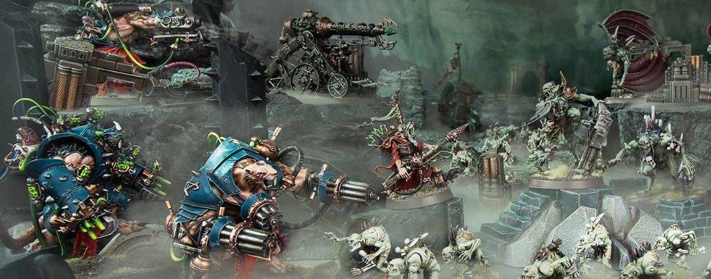 Warhammer Age of Sigmar Carrion Empire (Империя падали/Разлагающаяся империя)