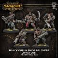 Black Ogrun Smog Belchers Unit (resin/metal)