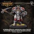 Kommandant Sorscha Kratikoff Warcaster (resin/metal)