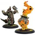 Gatorman Boil Master & Spirit Cauldron Unit (resin/metal) BOX