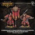 Kommandant Atanas Arconovich & Standard Unit (resin/metal) BOX