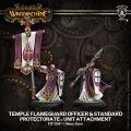 Temple Flameguard Officer & Standard Bearer