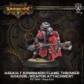 Assault Kommando Flame Thrower Weapon