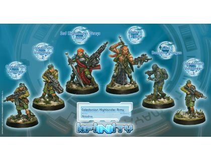 Caledonian Highlander Army - Ariadna Sectorial STARTER Pack BOX