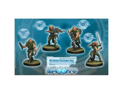 9th Wulver Grenadiers Regiment BOX