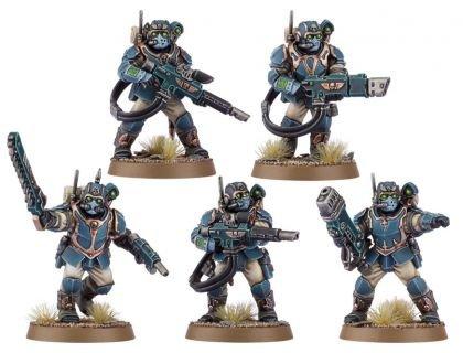 Militarum Tempestus Scions/Command Squad