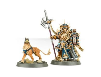 Lord Castellant and Gryph-hound